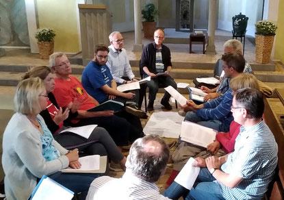 Der Gemeinderat tagt in der Kirche