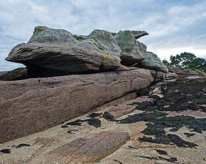 Steine so groß wie Ungeheuer.