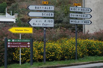 1254 km bis zur Partnerstadt Hofgeismar.