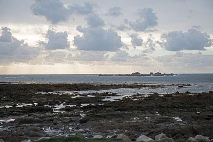 Saint Guenole; Strand; Wohnmobiltour