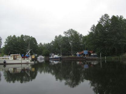 Hafen an der Havel