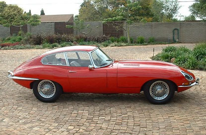 Jaguar E Type 1965