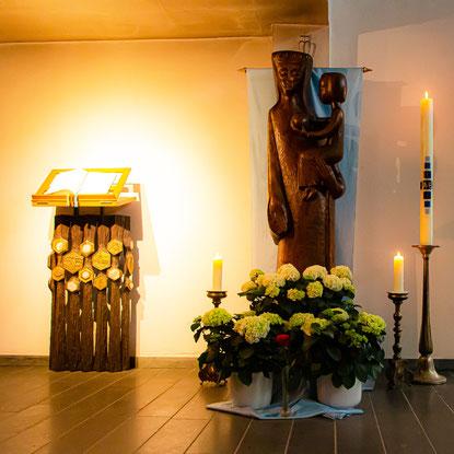 Madonna in St. Franziskus, Großenbaum