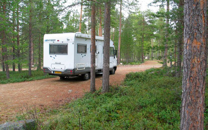 camping Ukonjärvi