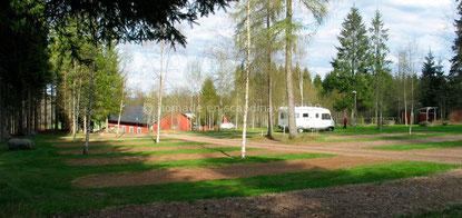 Eksjö, aire pour camping-cars