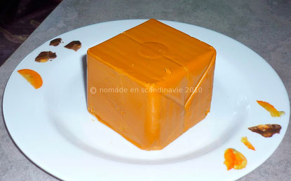 Le Geitost, fromage au caramel