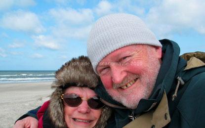 Sur la plage de Henne Strand