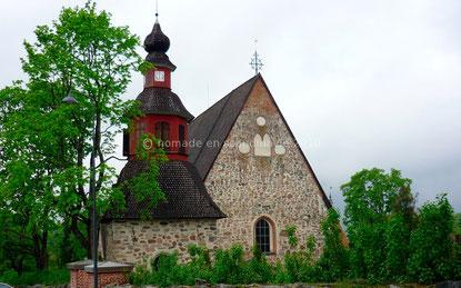 Perniö, église avec clocher séparé