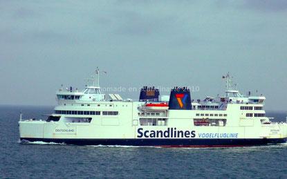 Le ferry de Rødby à Puttgarden