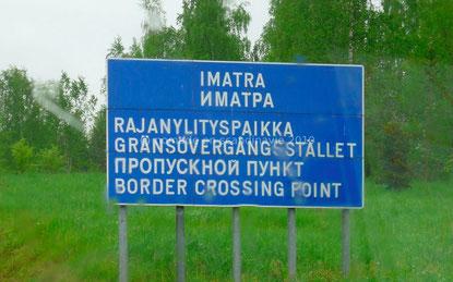 Frontière russe à Imatra