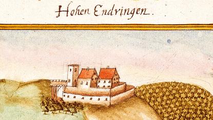 Das Schloss Hohenentringen. Bild: gemeinfrei.