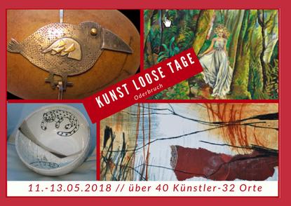(c) Oderbruch-Blog.de  Collage KunstLooseTage 2018 einige Künstler des Oderbruchs Oderland Oderbruch-blog.de