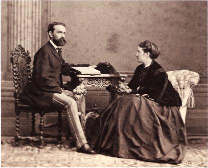 ラインベルガー夫妻(1869)