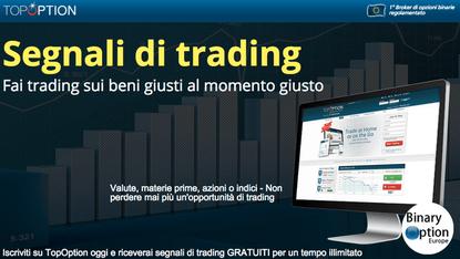 segnali di trading topoption