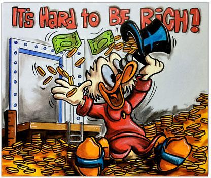 Dagobert Duck: It's hard to be rich!