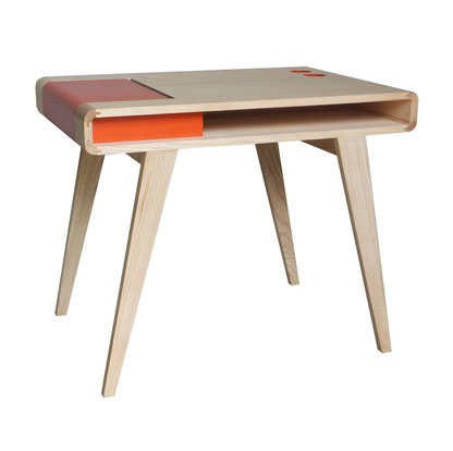 bureau kolorea bois orange