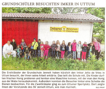Ostfriesenzeitung 25.06.2018