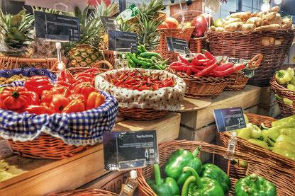 Fresh vegetables in YEME