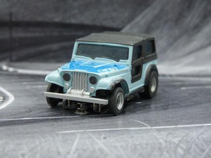AURORA AFX Jeep CJ-7 hell-/dunkelblau