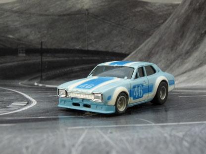 Ford Escort hellblau / dunkelblau / weiß #46