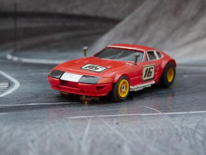 AURORA AFX Ferrari Daytona Coupe rot #16