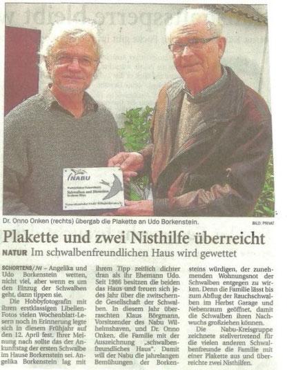Jeversches Wochenblatt v. 30.5.2013