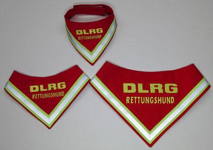 Halstuch DLRG Tuch Rettungshund