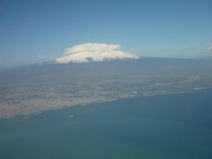 Catania am Fuße des Ätna