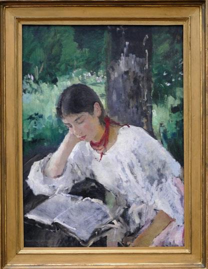 Valentin Serov (1865-1911) : portrait d'Adelaida Simonovich