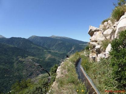 Randos Canétoises en rando Découverte au départ de Fetges jusqu'à Thues par le chemin de Georges le 19 juin 2018