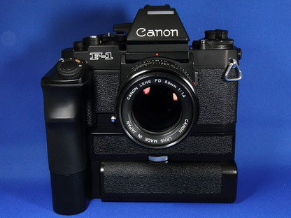 Canon New F-1 AE Motor Drive FN