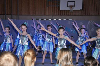 Die Nachwuchsgruppe der Dancing Angels