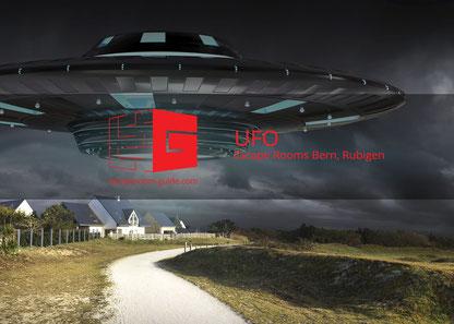 UFO, Escape Rooms Bern