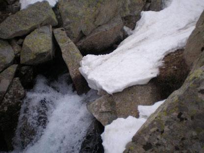 Puente de nieve