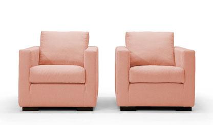 Hoes fauteuil Emma smal  Soho Company