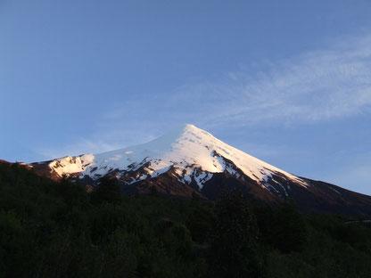 volcán osorno al amanecer fot. a.núñez