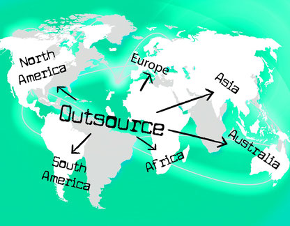 outsourcing, externalisation, travail