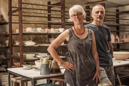 bottega artigiana, laboratorio di ceramica, artigianato,ceramica,gres.