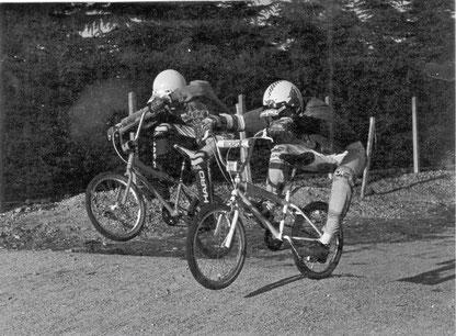 Pilotes de Serpaize à Brignais en 1985