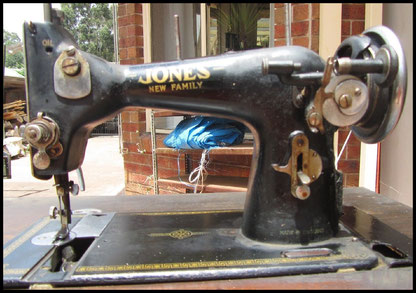JONES  NEW  FAMILY (Type 1) with serial number on to