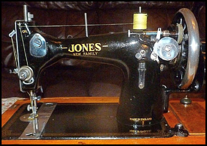 JONES  NEW  FAMILY (Type 1 var. 1) with serial number under (possibly)