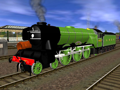 Gresley A3 Flying Scotsman NRM
