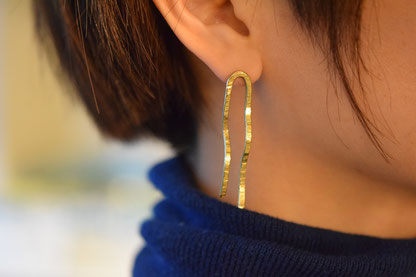 brass pierce 5,400 yen(HABAYA)
