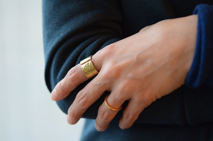 brass ring 5,940 yen(HABAYA)
