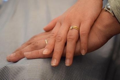 指輪の着用