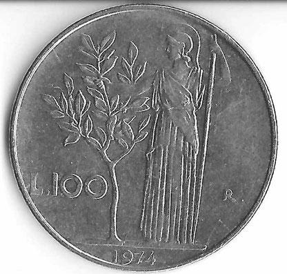100-Lire-Münze
