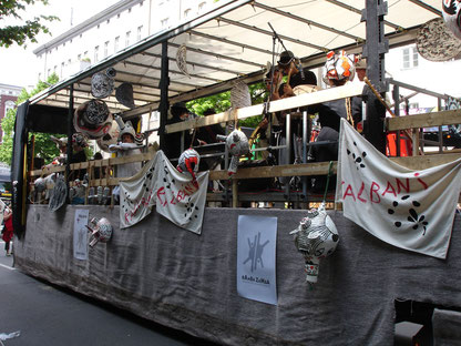 Rattenschiff - KALIBANIS auf dem Karneval der Kulturen Berlin