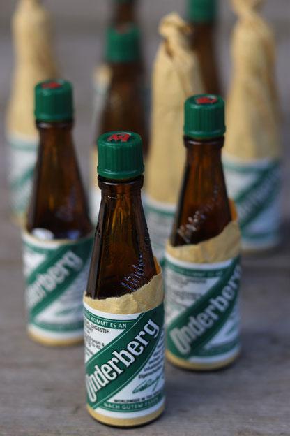 Underberg Flaschen