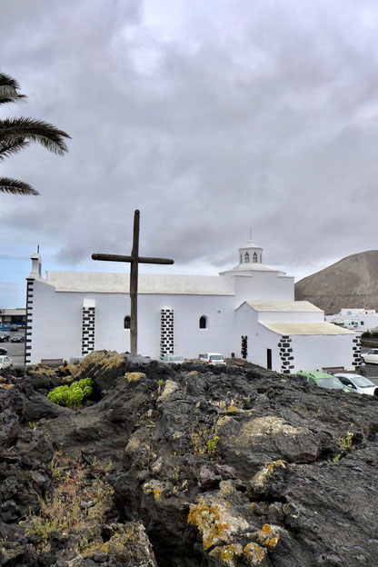 Mancha Blanca Kirche Nuestra Señora de los Volcanes