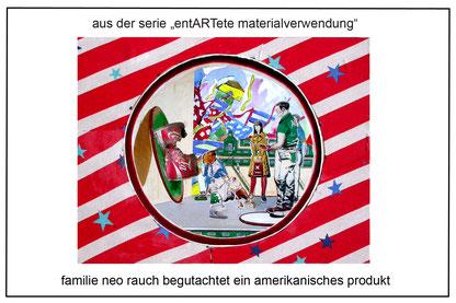 familie neo rauch begutachtet ein amerikanisches produkt, J.Wegener